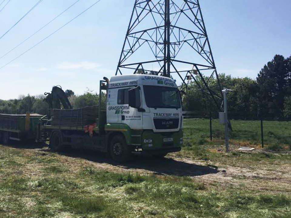 Chesterfield Solar Farm Installation