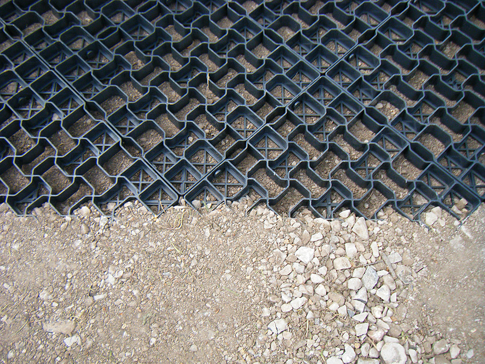 Geogrids Grass Driveway Systems Reinforced Grass Driveway