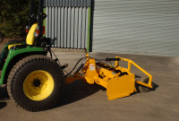 Gannon Grader Fitted With Dual Grade Laser