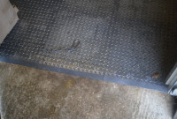 Close up of Stable CheckerLok Installation