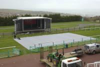 PortaPath - Brighton Concert - Installation