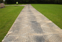 TuffTrak® Heavy Duty Road Mat - Construction site use