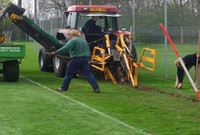 Football Pitch Maintenance Calendar