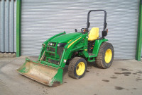 John Deere 3520 Compact Tractor - Front