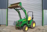 John Deere 3520 Compact Tractor - Raised