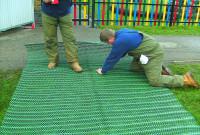 GrassProtecta reinforcement mesh - Install
