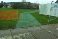 GrassProtecta reinforcement mesh - Install pathway followed