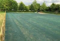Grassform Installed Mesh for Carpark