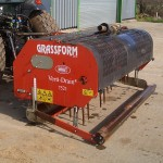 Verti Drain Hire for Sports Pitch Care