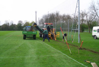 Westham - Training Ground Pitch - maintenance
