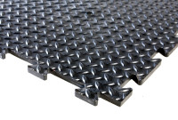 CheckerLok - PVC / Rubberised Matting - Close-up