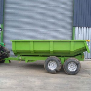 Hydraulic Tip Trailer 8 Tonnes for Hire