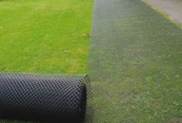 TurfProtecta Grass Mesh - Rolling install