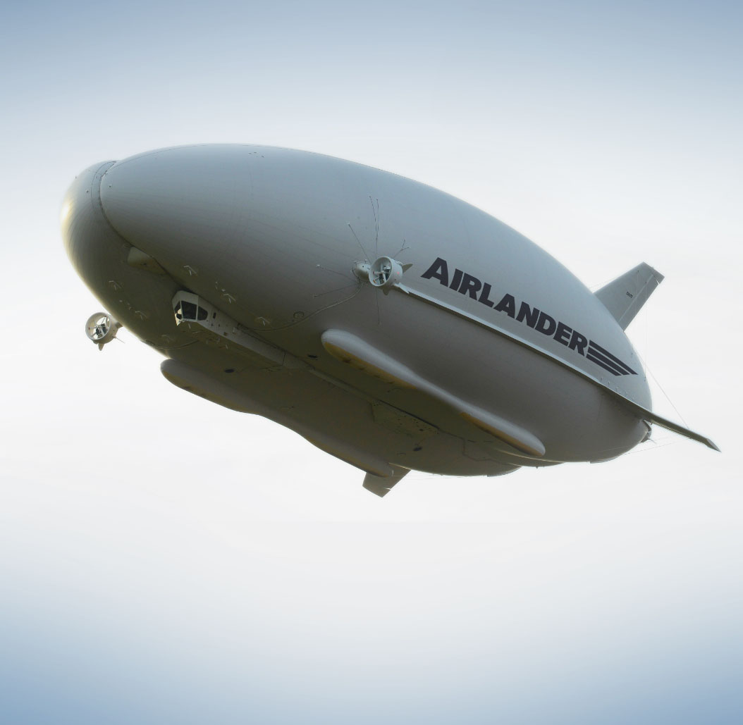 updated Airlander flying
