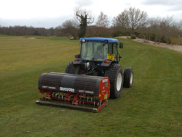Aeration - Verti-Draining